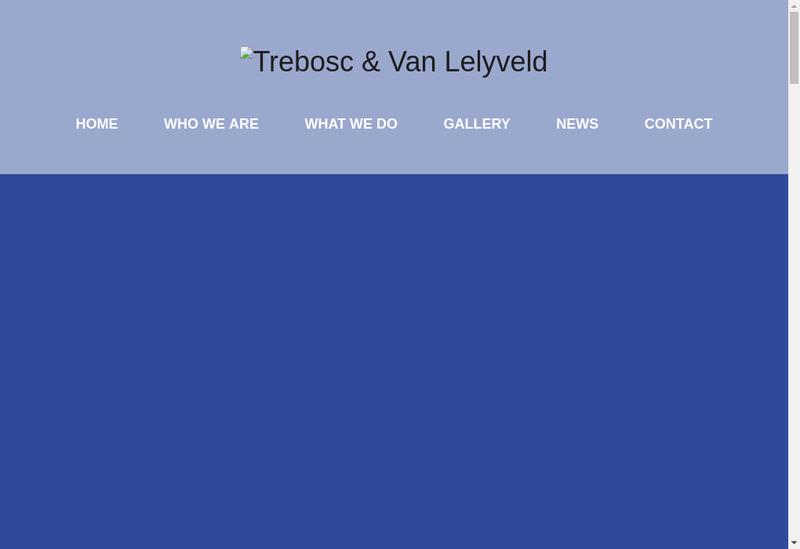 Capture d'écran du site de Olivier Trebosc
