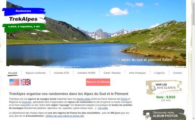 Site internet de Trekalpes