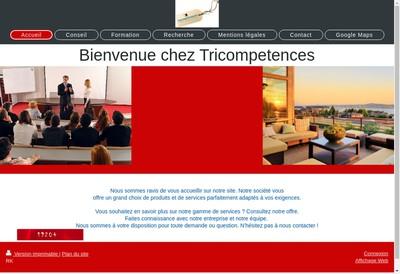 Site internet de Tricompetences Lyon