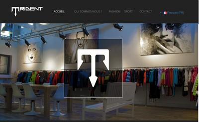 Site internet de Trident