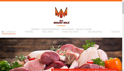 Site internet de Etablissements Mauri Max