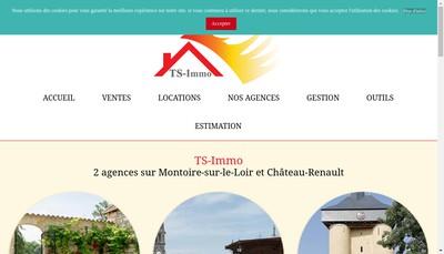 Site internet de Ts Immo