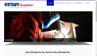 Site internet de TSR Formation