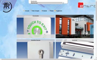 Site internet de Ttr Securite