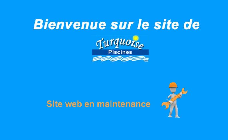 Capture d'écran du site de Turquoise Piscines