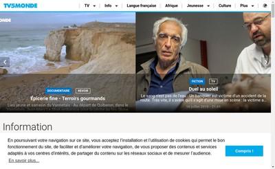 Site internet de Tv5