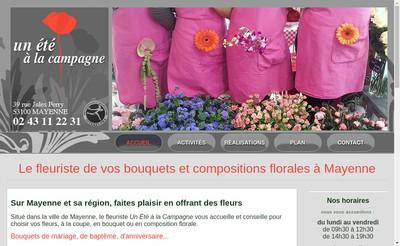 Site internet de Un Ete a la Campagne