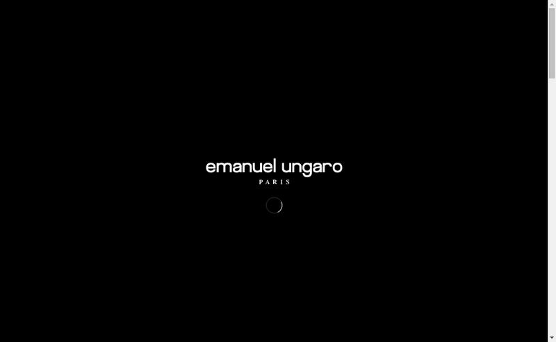 Site internet de Emanuel Ungaro