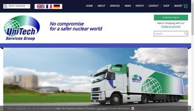 Site internet de Unitech Services