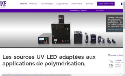 Site internet de Uwave
