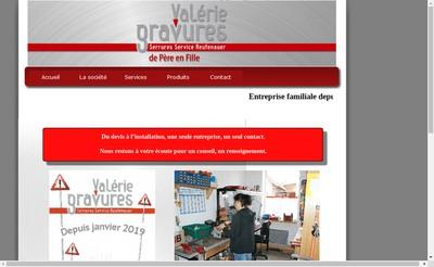 Site internet de Serrures Service Gravure