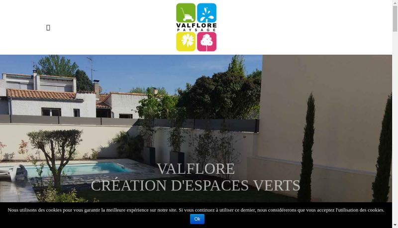 Site internet de Valflore