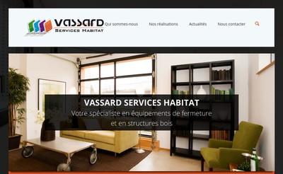 Site internet de Vassard Services Habitat
