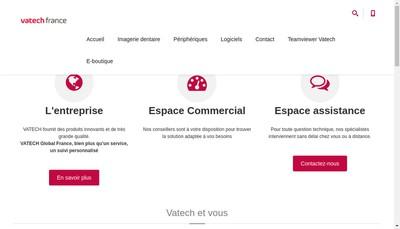 Site internet de Vatech Global France
