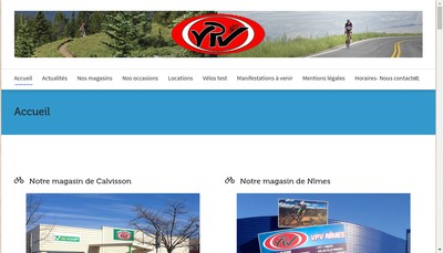 Site internet de Vaunage Passion Velos