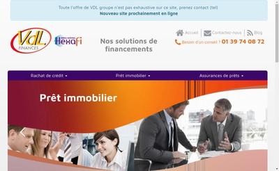 Site internet de Vdl Finances