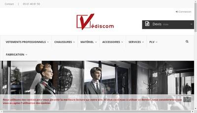 Site internet de Vediscom