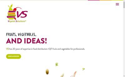 Site internet de Vs Vegetal Solutions