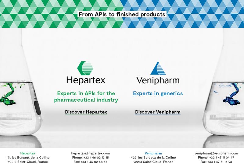 Capture d'écran du site de Venipharm