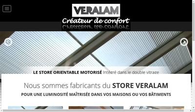 Site internet de Veralam Sb Multitravaux