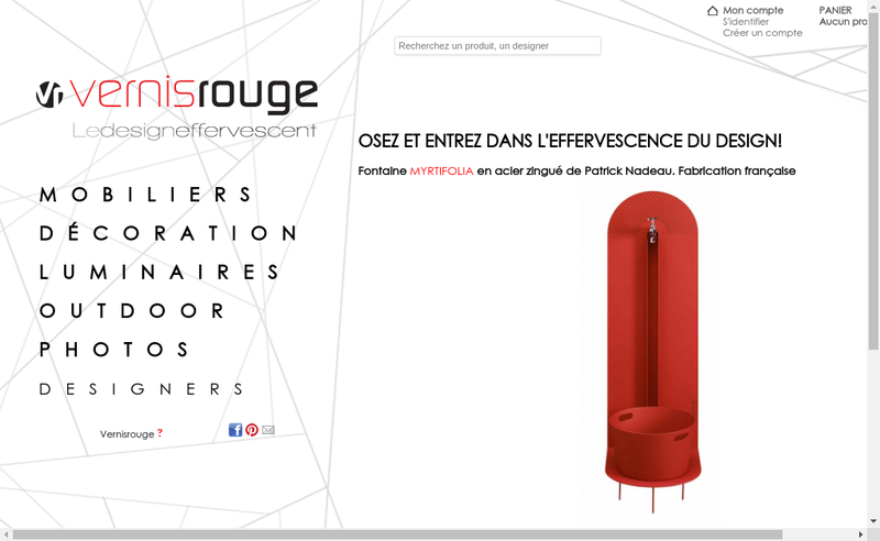 Capture d'écran du site de Maite Piechaud