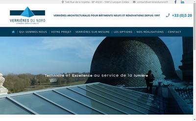 Site internet de Verrieres du Nord