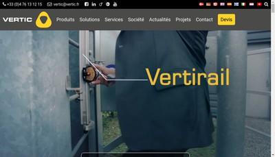 Site internet de Vertic