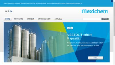 Capture d'écran du site de Vestolit France