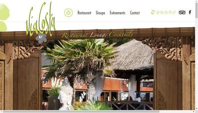Site internet de Via Costa
