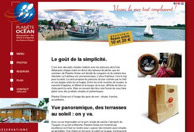 Capture d'écran du site de Fgc Distribution