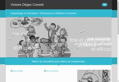 Site internet de Victoire Degez Conseil