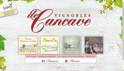 Site internet de De Cancave