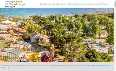 Site internet de Domaine du Grand Large