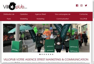 Site internet de Villopub