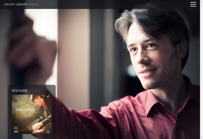 Capture d'écran du site de Schouman Music Management