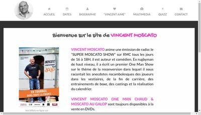 Site internet de Moskato Productions