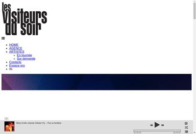 Site internet de Les Visiteurs du Soir-Maestro Production