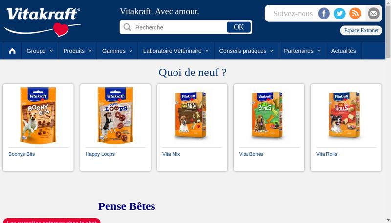 Capture d'écran du site de E Leclerc