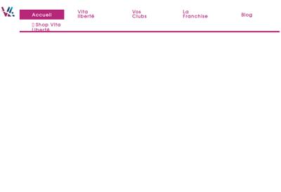 Capture d'écran du site de Ge Vita Liberte