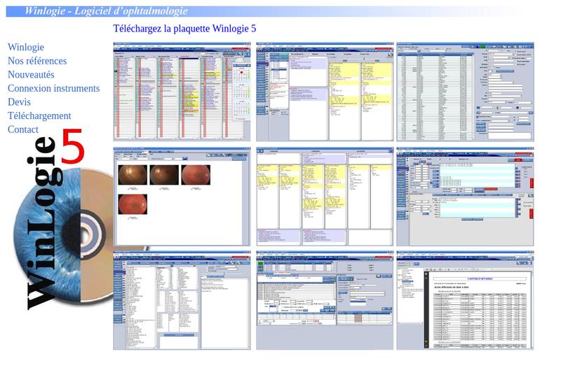Capture d'écran du site de VT Soft