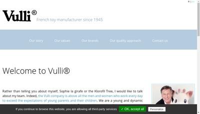 Site internet de Vulli