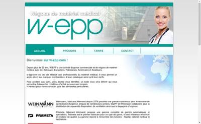 Site internet de W Epp