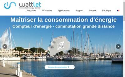 Site internet de Wattlet
