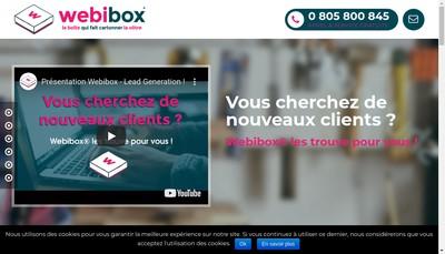 Site internet de Webibox