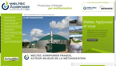 Site internet de Agripower France