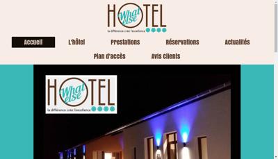 Capture d'écran du site de Appart Hotel Polo