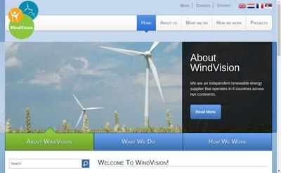 Site internet de Windvision France