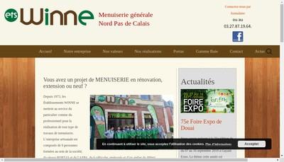 Site internet de Societe Winne