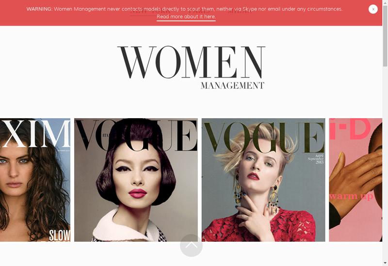 Capture d'écran du site de Wm Talents Consulting