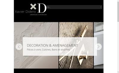 Site internet de Xd Xavier Didero Createur d'Interieur